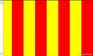 Red & Yellow Striped